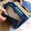 กระเป๋าจัดเก็บพาสปอร์ตสไตส์เกาหลีสีน้ำเงิน thumbnail 2