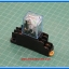 1x Realy 12Vdc LY2NJ 10 A 250VAC 8 Pins with DIN-Rail Based Socket Module thumbnail 2
