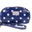 กระเป๋าสตางค์ Chalita wu สีน้ำเงิน ลายจุด thumbnail 1