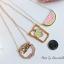 เลือกลายด้านในนะคะ สร้อยคอ Pastel Pop JP Style NK96300 thumbnail 7