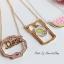 เลือกลายด้านในนะคะ สร้อยคอ Pastel Pop JP Style NK96300 thumbnail 6