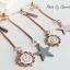 เลือกสีด้านในค่ะ ต่างหู Fairy Tale Clock Korea ER9968 thumbnail 7