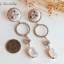 ต่างหู Flower Diamond Ring Korea ER3121 thumbnail 7
