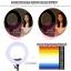 """SMART LED Video Light Lamp 48W 18"""" Studio Ring Light Photography Lighting 3200K-5500K thumbnail 7"""